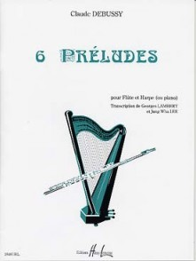 DEBUSSY C. 6 PRELUDES FLUTE