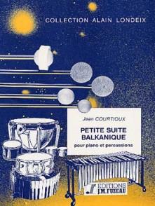 COURTIOUX J. PETITE SUITE BALKANIQUE PERCUSSIONS