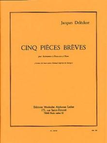 DELECLUSE J. CINQ PIECES BREVES PERCUSSIONS