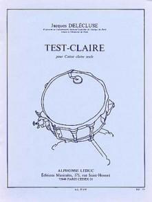 DELECLUSE J. TEST-CLAIRE CAISSE CLAIRE