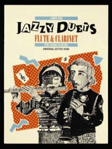 RAE J. JAZZY DUETS FLUTE CLARINET