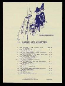DESPORTES Y. LA FOIRE AUX CROUTES: THE MARIONETTES XYLOPHONE
