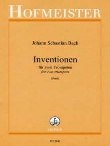 BACH J.S. INVENTIONEN FUR 2 TROMPETTES