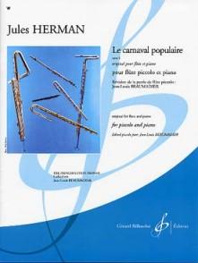HERMAN J. LE CARNAVAL POPULAIRE FLUTE