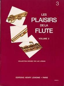 LES PLAISIRS DE LA FLUTE VOL 3