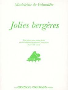 VALMALETE DE M. JOLIES BERGERES PIANO