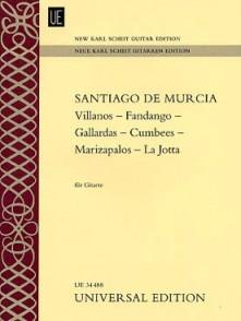 DE MURCIA S. VILLANOS -  FANDANGOS - GALLARDAS ...  GUITARE
