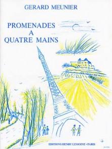 MEUNIER G. PROMENADES A QUATRE MAINS