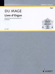 DU MAGE P. LIVRE ORGUE