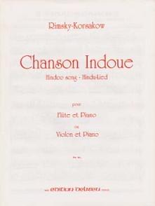 RIMSKY-KORSAKOV N. CHANSON INDOUE FLUTE