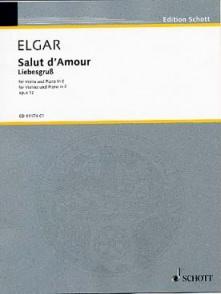 ELGAR E. SALUT D'AMOUR VIOLON