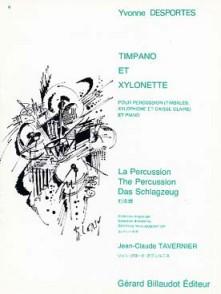 DESPORTES Y. TIMPANO ET XYLONETTE PERCUSSION