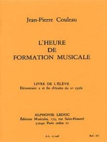 COULEAU J.P. HEURE DE FORMATION MUSICALE E2