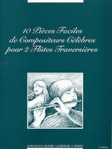 PIECES FACILES DE COMPOSITEURS CELEBRES 2 FLUTES