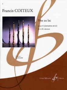 COITEUX F. FETE AU LAC 4 CLARINETTES