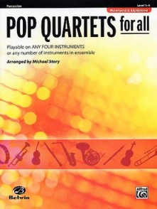 STORY M. POP QUARTETS FOR ALL PERCUSSION