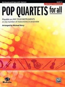 STORY M. POP QUARTETS FOR ALL SAXOS ALTO