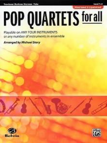 STORY M. POP QUARTETS FOR ALL TROMBONES OU TUBAS OU EUPHONIUMS