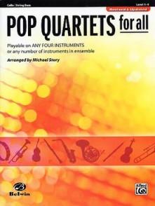 POP QUARTETS FOR ALL VIOLONCELLES OU CONTREBASSES