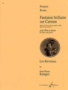 BORNE F. FANTAISIE BRILLANTE SUR CARMEN FLUTE