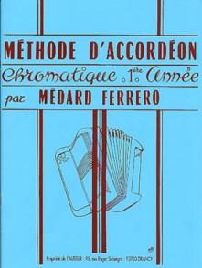 FERRERO M. METHODE ACCORDEON 1RE ANNEE