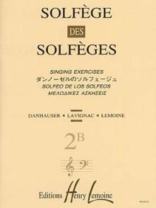 SOLFEGE DES SOLFEGES VOL 2B