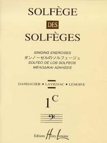 SOLFEGE DES SOLFEGES VOL 1C