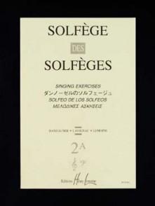 SOLFEGE DES SOLFEGES VOL 2A