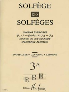 SOLFEGE DES SOLFEGES VOL 3A AVEC PIANO