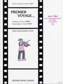 VOIRPY A. PREMIER VOYAGE VOL 1 ALTO