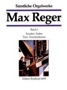 REGER M. OEUVRE COMPLETE VOL 5 ORGUE