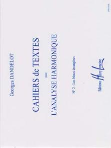DANDELOT G. CAHIERS DE TEXTES L'ANALYSE HARMONIQUE VOL 2