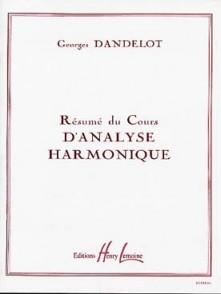 DANDELOT G. RESUME COURS ANALYSE HARMONIQUE