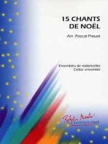 15 CHANTS DE NOEL ENSEMBLE DE VIOLONCELLES