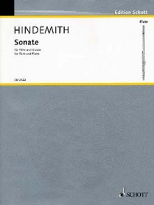 HINDEMITH P. SONATE FLUTE