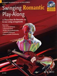 SWINGING ROMANTIC PLAY-ALONG VIOLON