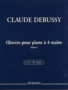 DEBUSSY C. OEUVRES VOL 1 PIANO 4 MAINS