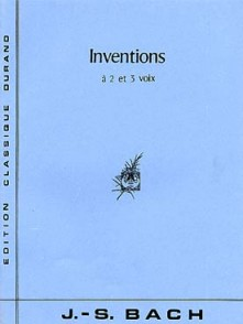 BACH J.S. INVENTIONS A 2 ET 3 VOIX PIANO