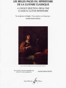 LES BELLES PAGES DU REPERTOIRE DE LA GUITARE CLASSIQUE