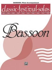 CLASSIC FESTIVAL SOLOS BASSON ACC. PIANO