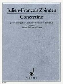 ZBINDEN J.F. CONCERTINO OP 6 TROMPETTE
