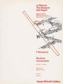 DEVIENNE F. DUOS CONCERTANTS VOL 1 BASSONS