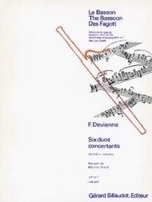 DEVIENNE F. DUOS CONCERTANTS VOL 2 BASSONS