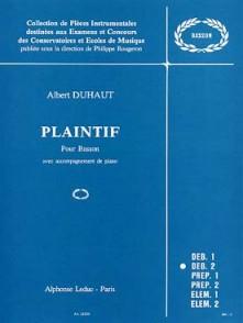 DUHAUT A. PLAINTIF BASSON
