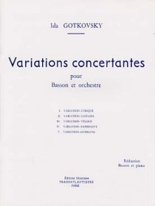 GOTKOVSKY I. VARIATIONS CONCERTANTES BASSON