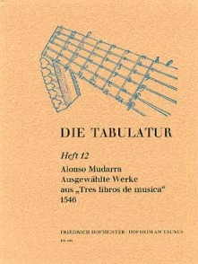 MUDARRA A. TRES LIBROS DE MUSICA GUITARE