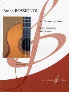 ROSSIGNOL B. SOIREES SOUS LA LUNE GUITARE