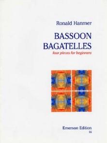 HANMER R. BASSOON BAGATELLES BASSON