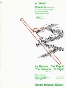VIVALDI A. CONCERTO SIB MAJEUR BASSON