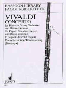 VIVALDI A. CONCERTO DO MAJEUR BASSON
